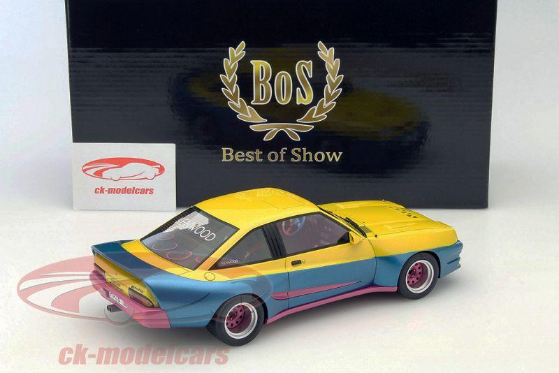 1:18 Model car group Opel Manta B Mattig from the movie manta manta